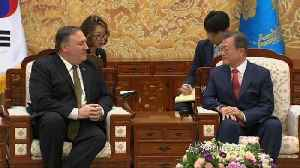 """""""Good, productive"""" conversation with NK: Pompeo [Video]"""