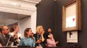 Banksy Artwork Shredded After Selling at Auction May Have Increased in Value [Video]