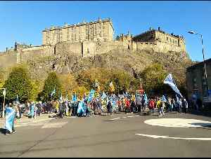 Thousands March in Edinburgh For Scottish Independence [Video]