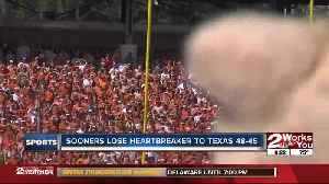 #7 Oklahoma upset by Texas, 48-45 in highest-scoring Red River Showdown ever [Video]
