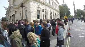 Brazilians in London queue for hours outside embassy to vote in hotly contested presidential election [Video]