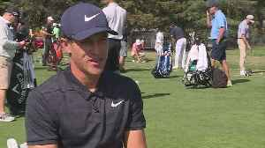 News video: Local Golfer Cameron Champ Makes PGA Tour Debut