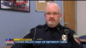 'Without question, he's remorseful': Town of Madison PD head defends hiring former DeForest PD chief [Video]