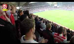Arsenal Fans Chant Danny Welbeck's Name At Villa Park [Video]