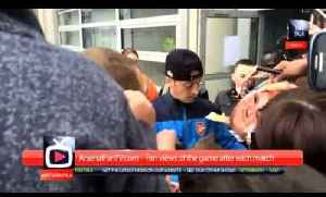 Mesut Ozil makes time for the Fans at Hull [Video]