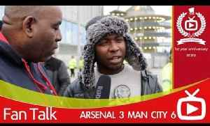 Arsenal 3 Man City 6 - We Can Definitely Still Win The League [Video]