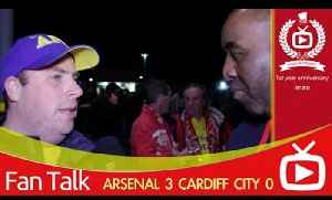 Arsenal FC 3 Cardiff City 0 - Aaron Ramsey Is The Best Player In The League [Video]