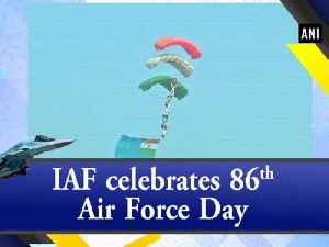 IAF celebrates 86th Air Force Day [Video]