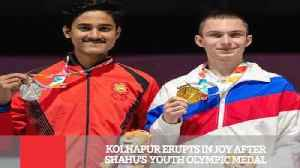 Kolhapur Erupts In Joy After Shahu's  Youth Olympic Medal [Video]