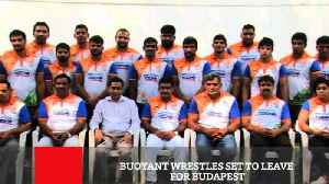 A strong 30-member team, led by Olympic medallist Sakshi Malik and Asian Games gold medallist Bajrang Punia will represent India [Video]