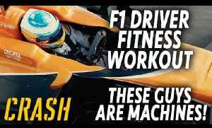 F1 driver fitness workouts 2017 - these guys are machines! [Video]