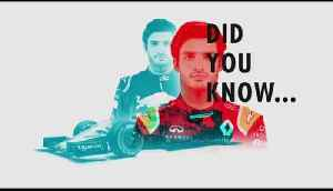 Carlos Sainz F1 Driver Profile 2018 [Video]