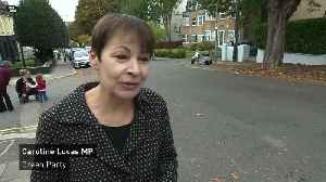 Caroline Lucas: Government must change climate change policy [Video]