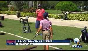 Junior Golfers Show Off Their Game [Video]
