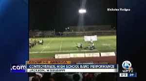 Band halftime show depicts police at gunpoint, stirs anger [Video]