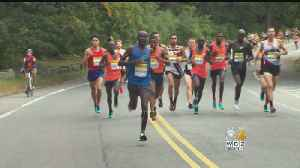 B.A.A. Half-Marathon Draws 9,000 Runners [Video]