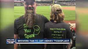 Wisconsin man credits viral photo for helping find kidney donor [Video]