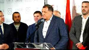 Serb nationalist wins seat in Bosnia's presidency, says party [Video]