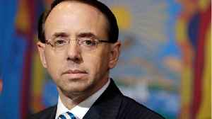 Deputy Attorney General Rod Rosenstein: The Most-watched Official In Washington [Video]