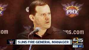 News video: Phoenix Suns fire general manager Ryan McDonough