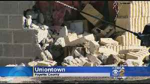 Garbage Truck Reportedly Loses Brakes, Crashes Into Uniontown Police Station [Video]