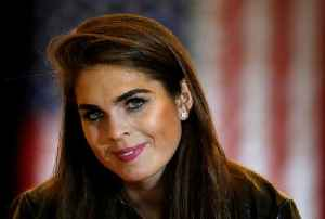 News video: Hope Hicks Named Head of Corporate Communications for New Fox