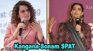 Kangana-Sonam SPAT | Women need to stand together, says Sonam [Video]