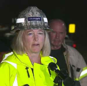 Locked out National Grid chant 's hame on you' as officials hold briefing [Video]