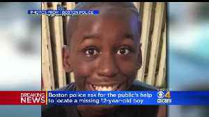 Boston Police Ask For Public's Help To Locate A Missing 12 Year Old Boy [Video]