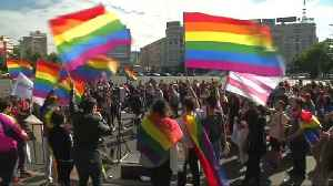 Gay rights supporters celebrate failure of vote on same sex marriage ban [Video]