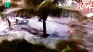 The Moment A Tsunami Hit In Indonesia [Video]