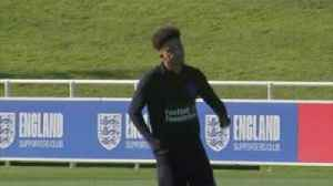 Sancho's first Eng training session [Video]