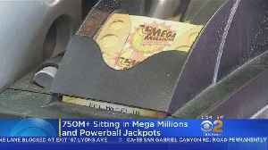 $750M Up For Grabs In This Week's Mega Millions, Powerball Jackpots [Video]