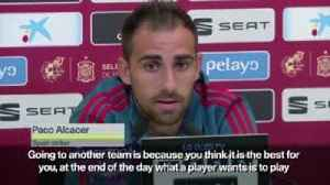 Alcacer: I left Barca to be happy [Video]