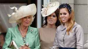 News video: Why Camilla Parker Bowles Won't Be Attending Princess Eugenie's Wedding
