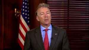 """News video: Rand Paul Says Today's Political Climate Makes Him 'Worry That Someone"""" Will """"Be Killed'"""