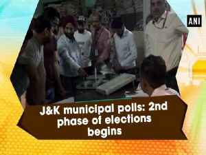 J&K municipal polls: 2nd phase of elections begins [Video]
