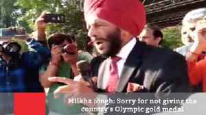 Milkha Singh: Sorry For Not Giving The Country's Olympic Gold Medal [Video]