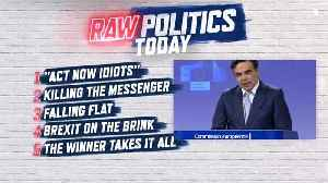 Raw Politics: blunt climate change warning, Bulgarian journalist murder and Brexit optimism [Video]
