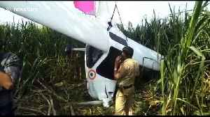 Indian farmers carry Air Force plane on shoulders after crash [Video]