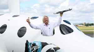 Richard Branson Says Virgin Galactic Is 'Weeks' Away From A Launch As His Space Race With Jeff Bezos Heats Up [Video]