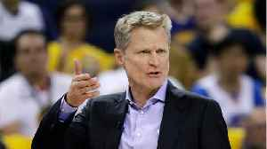 Steve Kerr Happily Gets Ejected From Preseason Game [Video]