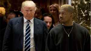 Kanye Heads To West Wing For Lunch With Trump [Video]