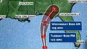 News video: Thousands evacuate Florida Panhandle to prepare for Hurricane Michael