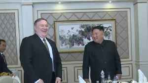 Pompeo discusses 2nd U.S.-North Korea summit during meeting with Kim Jong Un [Video]
