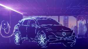 The new Mercedes-Benz EQC - Animation Charging [Video]