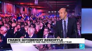 French government reshuffle: Macron''s ambition is to change the way France does business [Video]