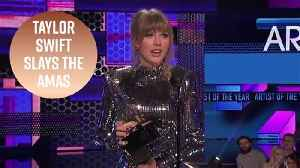Why Taylor Swift won the night at the American Music Awards [Video]