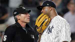 CC Sabathia Rips Umpire Angel Hernandez After Yankees' Loss [Video]