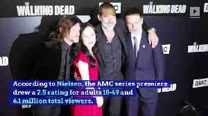 'The Walking Dead' Season 9 Premiere Was the Show's Lowest Rated Ever [Video]